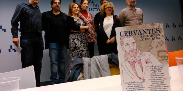 """Presentación en Madrid de """"Cervantes tiene quien le escriba"""""""