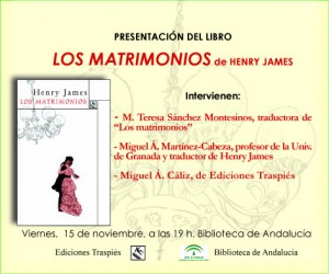 Los matrimonios, Henry James