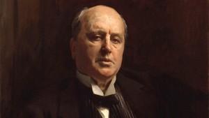 Henry James, retratado por el pintor John Singer Sargent